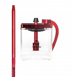 MS MICRO HOOKAH RED - CLEAR