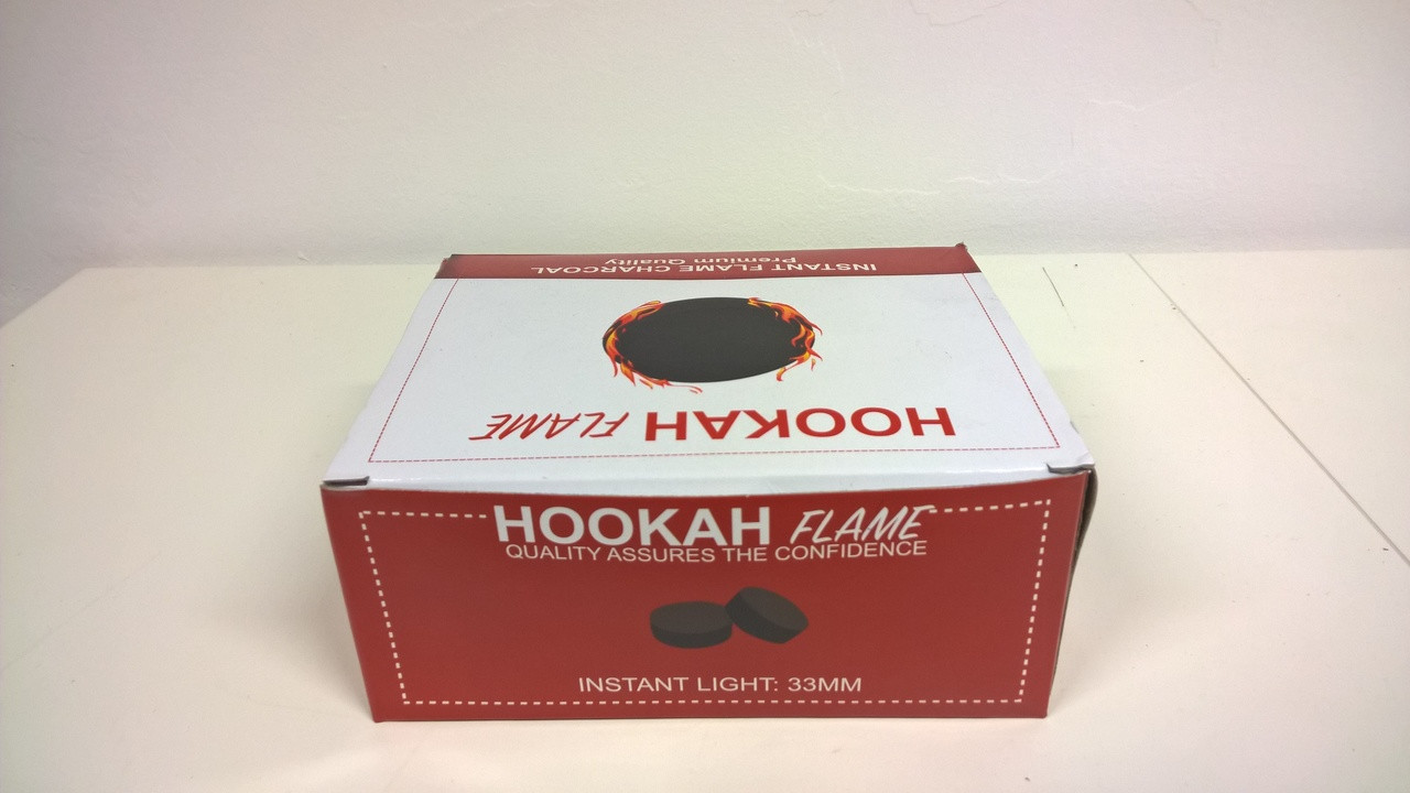 Hookah Flame Charcoals 33mm