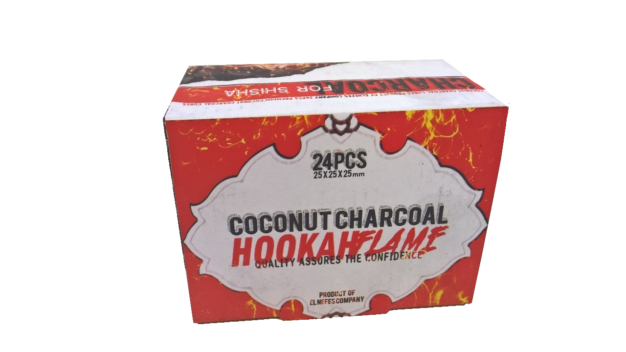 Hookah Flame Coconut Charcoal 24pcs