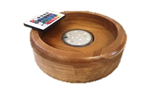 El Nefes Wood Led Tray