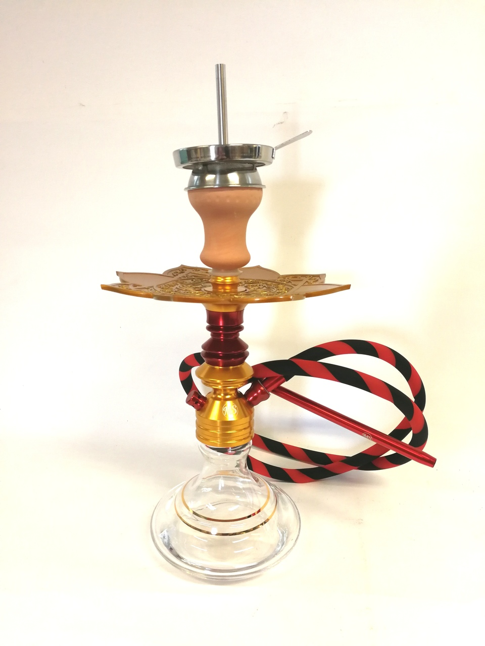 MS Leao Hookah gold -red